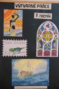 Výtvarné práce 7. ročník