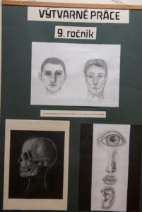 Výtvarné práce 9. ročník