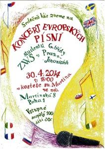 Veřejný koncert žáku 6.třídy