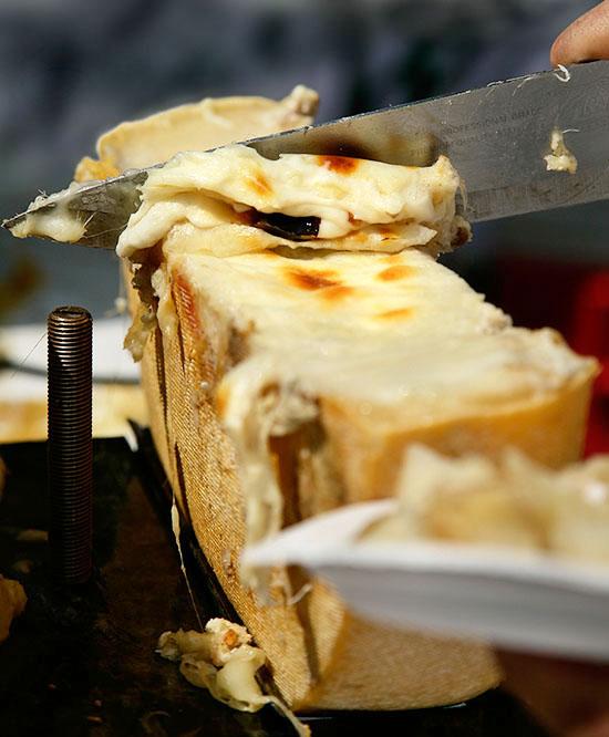 Švýcarský raclette