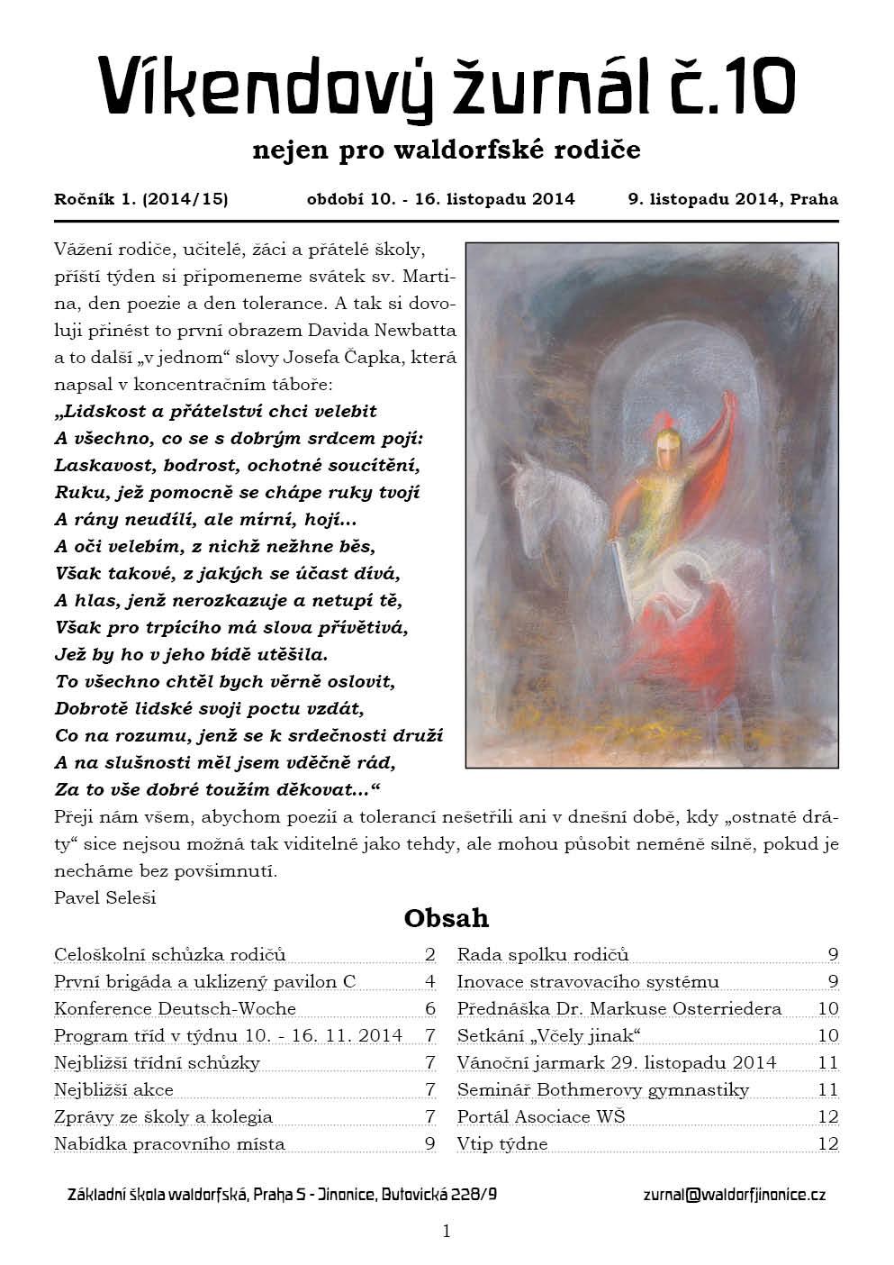 Žurnál 1.10