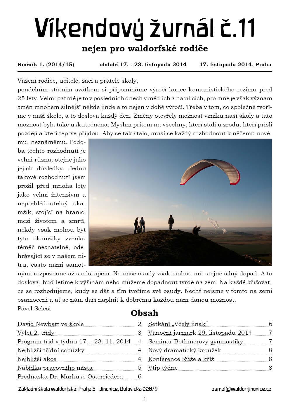 Žurnál 1.11