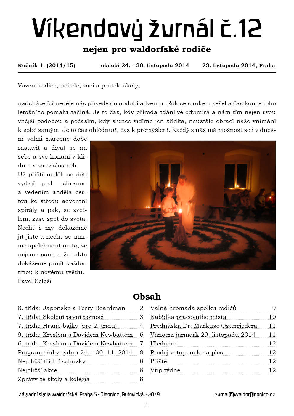 Žurnál 1.12
