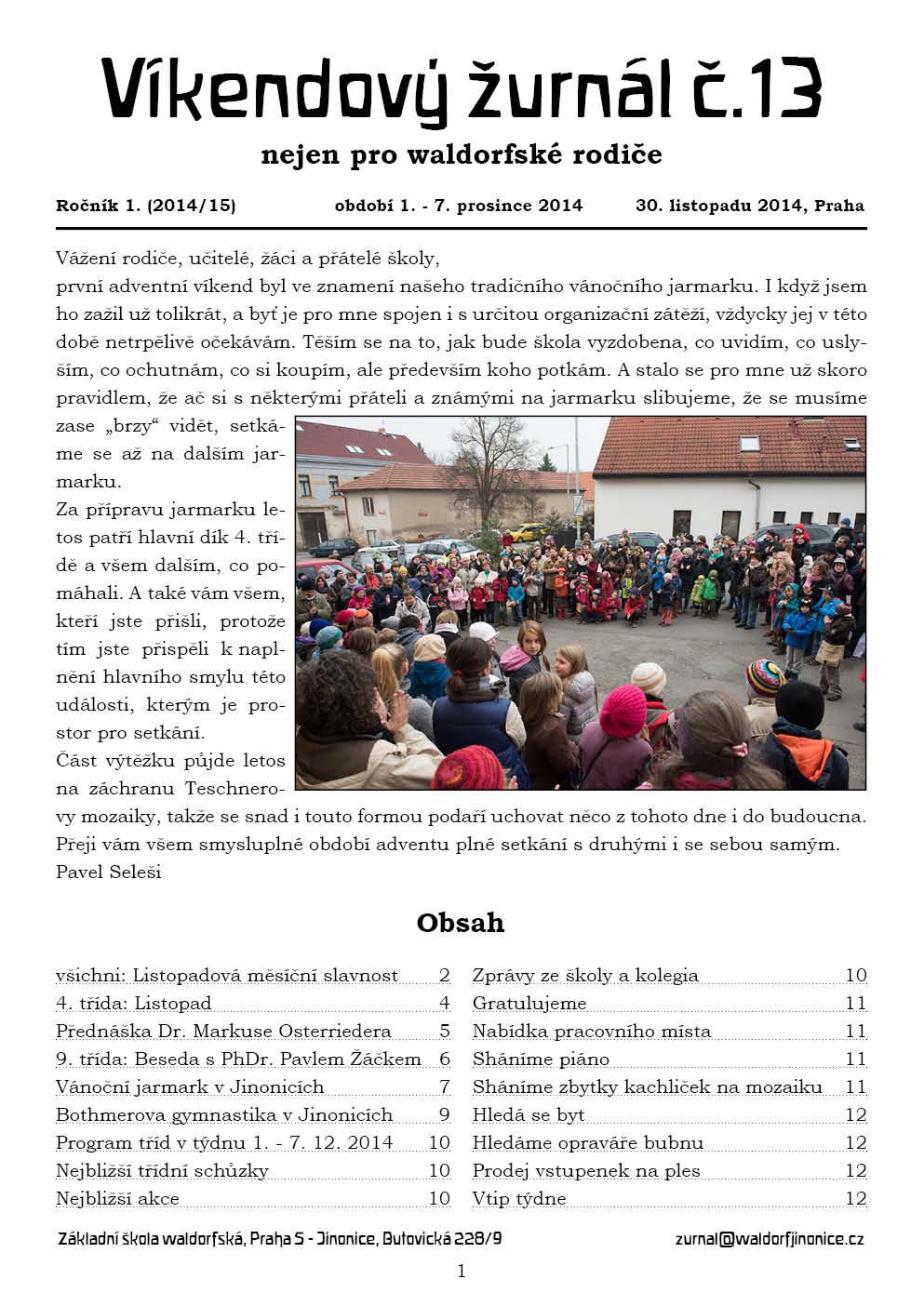 Žurnál 1.13