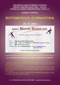 Pozvánka na seminář Bothmerovy gymnastiky