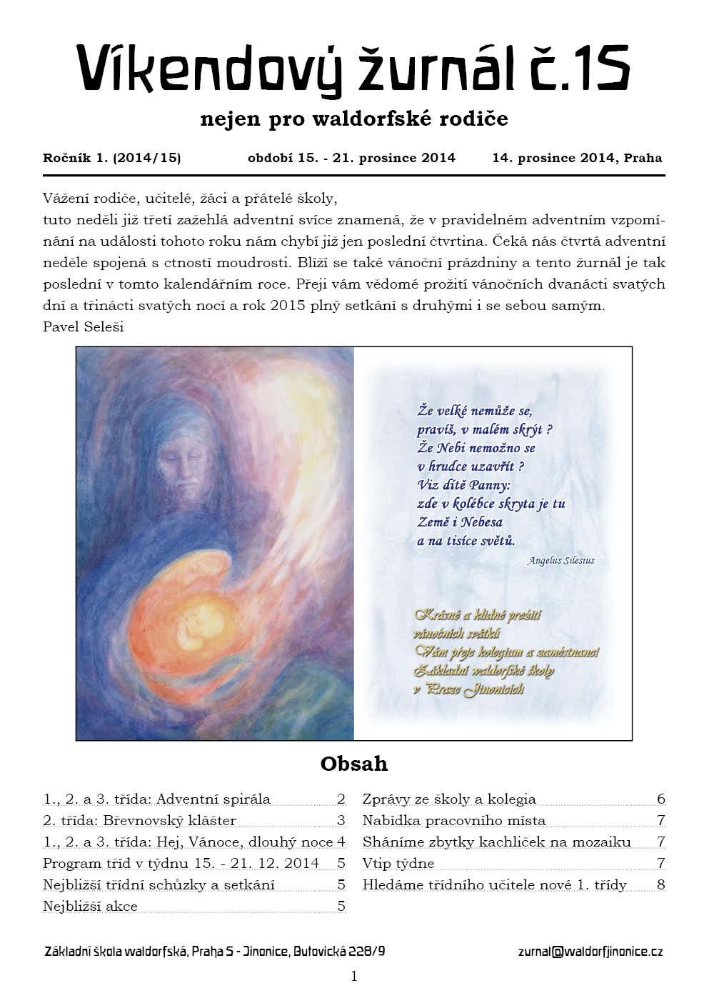 Žurnál 1.15