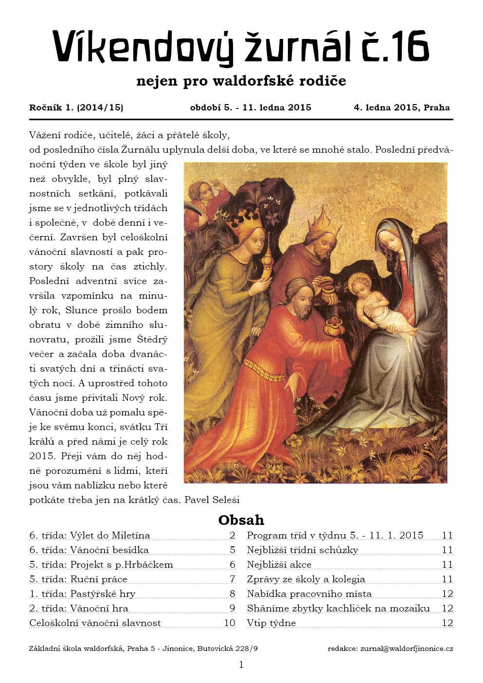 Žurnál 1.16