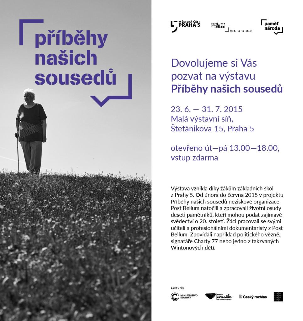 Pozvánka výstava Praha 5