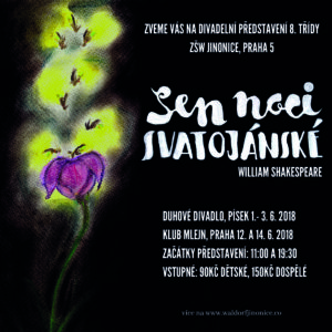 Sen noci svatojánské – Ročníkové divadelní představení 8.třídy