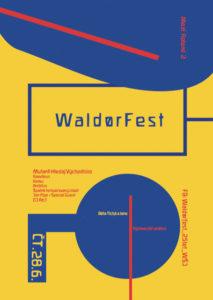 Waldorfest – PŘELOŽENO NA 2019 – vpůvodním termínu zůstává neformální setkání vpavilonu A
